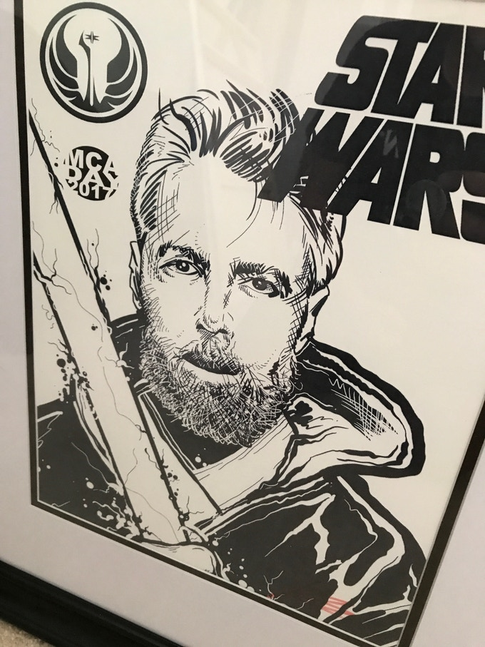 The Force is STRONG with YAUCH