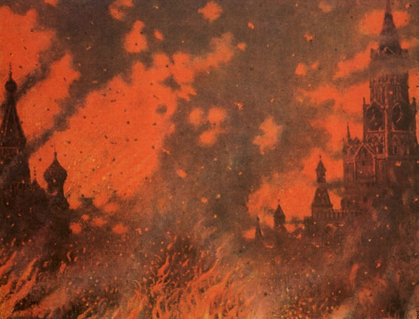 East Fire. A blend of architectures. A blend of blood, stone, and flame.