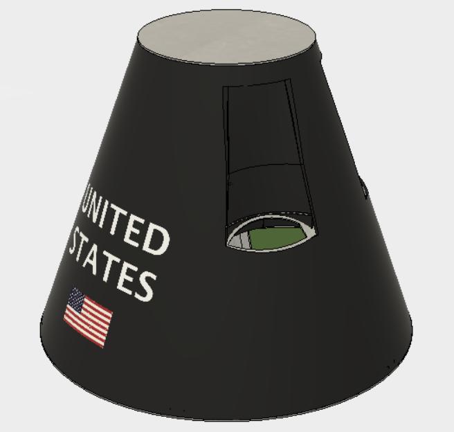 CAD Model of Capsule Exterior