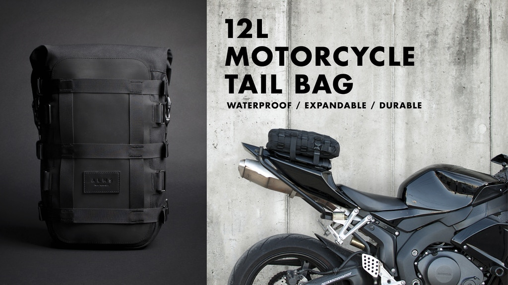 12L Motorcycle Tail Bag project video thumbnail
