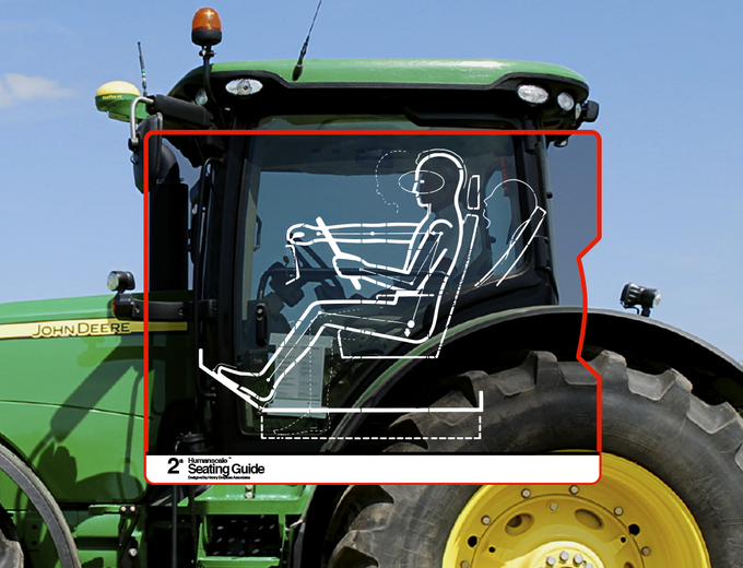 Humanscale was utilized in the development of numerous of John Deere products