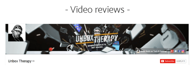 Check out what Unbox Therapy thinks of Nums™ here.