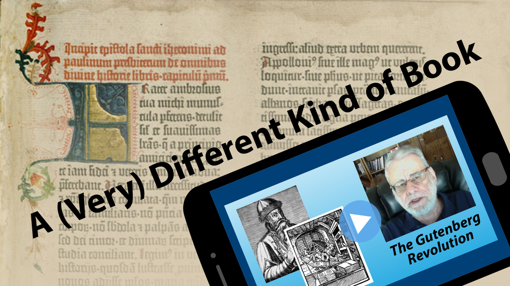A (Very) Different Kind of Book project video thumbnail