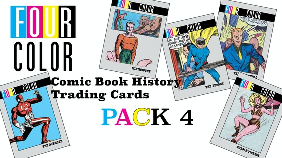 Four Color Comics Book History Trading Cards #4