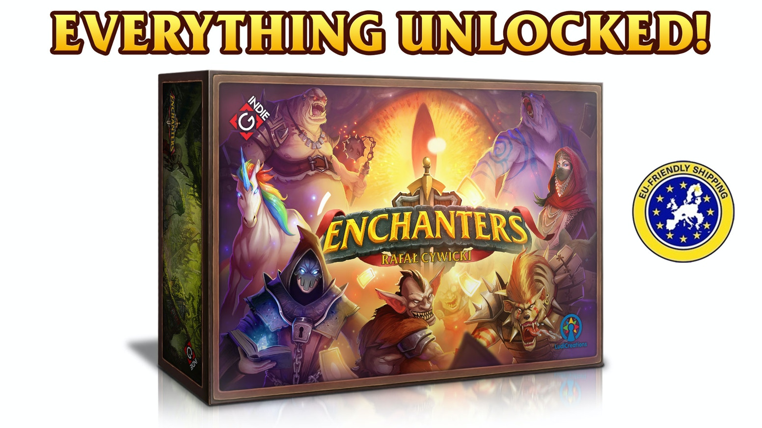 Enchanters by Gindie - LudiBooster » Stretch Goal Unlocked