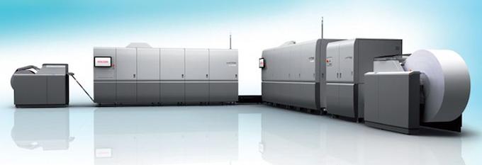 Ricoh Pro VC60000 inkjet press