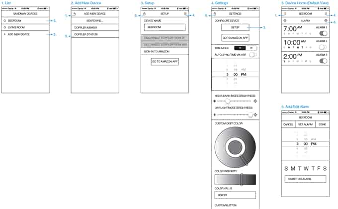 App UX development
