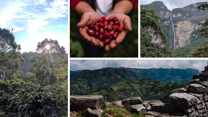 Sights from Kuelap Ruins and Gocta Waterfall in northern Peru
