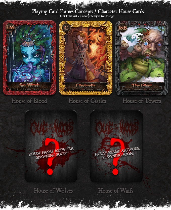 Out Of The Woods (Fairy Tale Card Game And Book) By