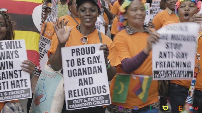 Pride-In-London Parade