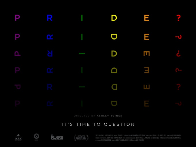 The Official PRIDE? Poster
