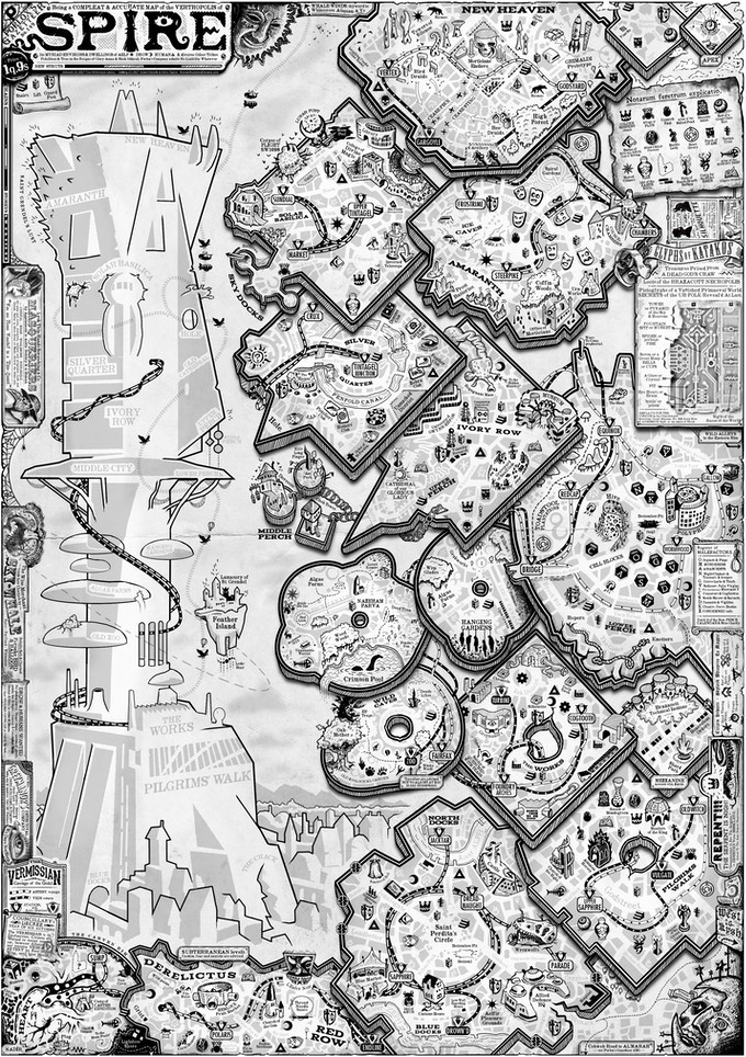 This is Tim's map of Spire; as you can see, there's an absurd amount of detail here