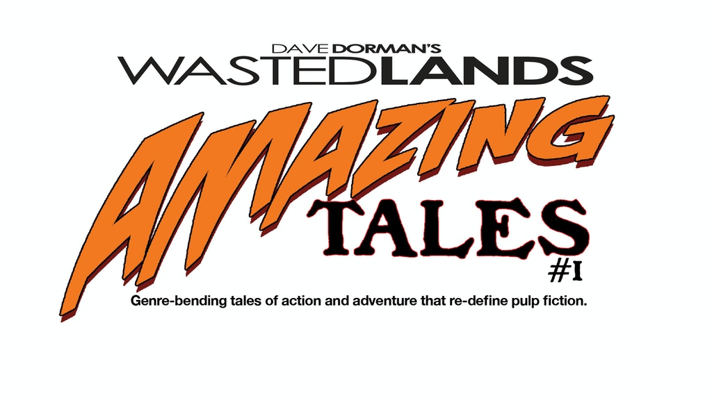 Amazing Tales of The Wasted Lands inaugural issue pre-sale! project video thumbnail
