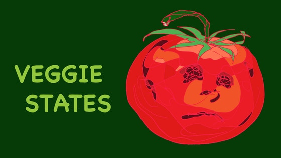 Veggie States: Vegetables With Emotions