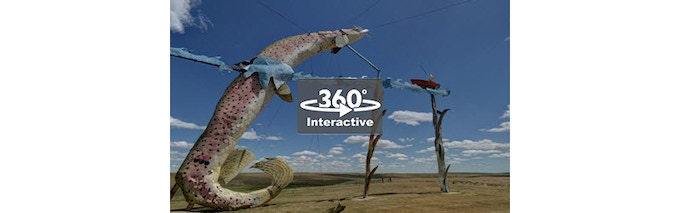 Click/tap to Step Inside this Fish Tale! - Fishermans Dream - Enchanted Highway