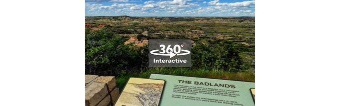 Prepare to Have Your Breath Taken Away in 360° - Painted Canyon Overlook - Theodore Roosevelt National Park