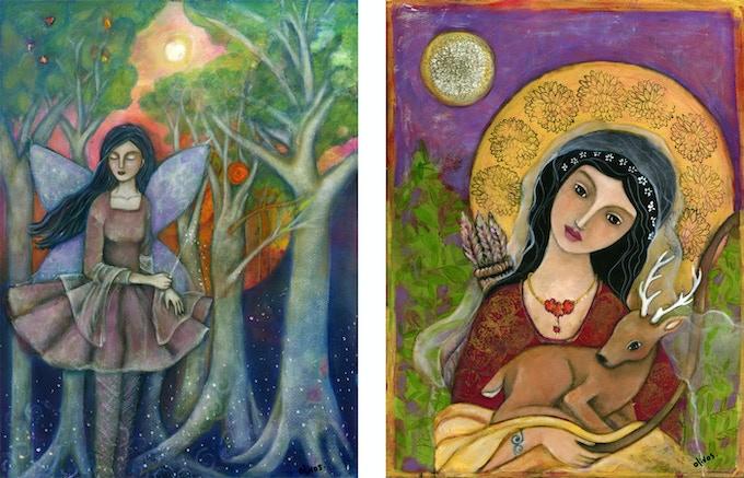 Aine & Artemis