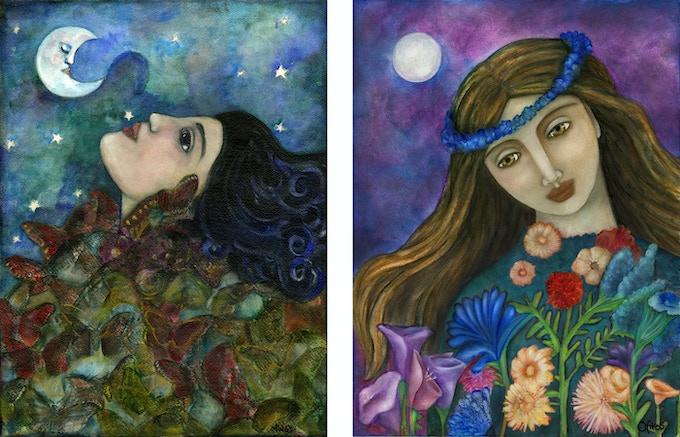 Butterfly Maiden & Demeter