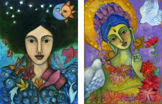Gaia & Green Tara