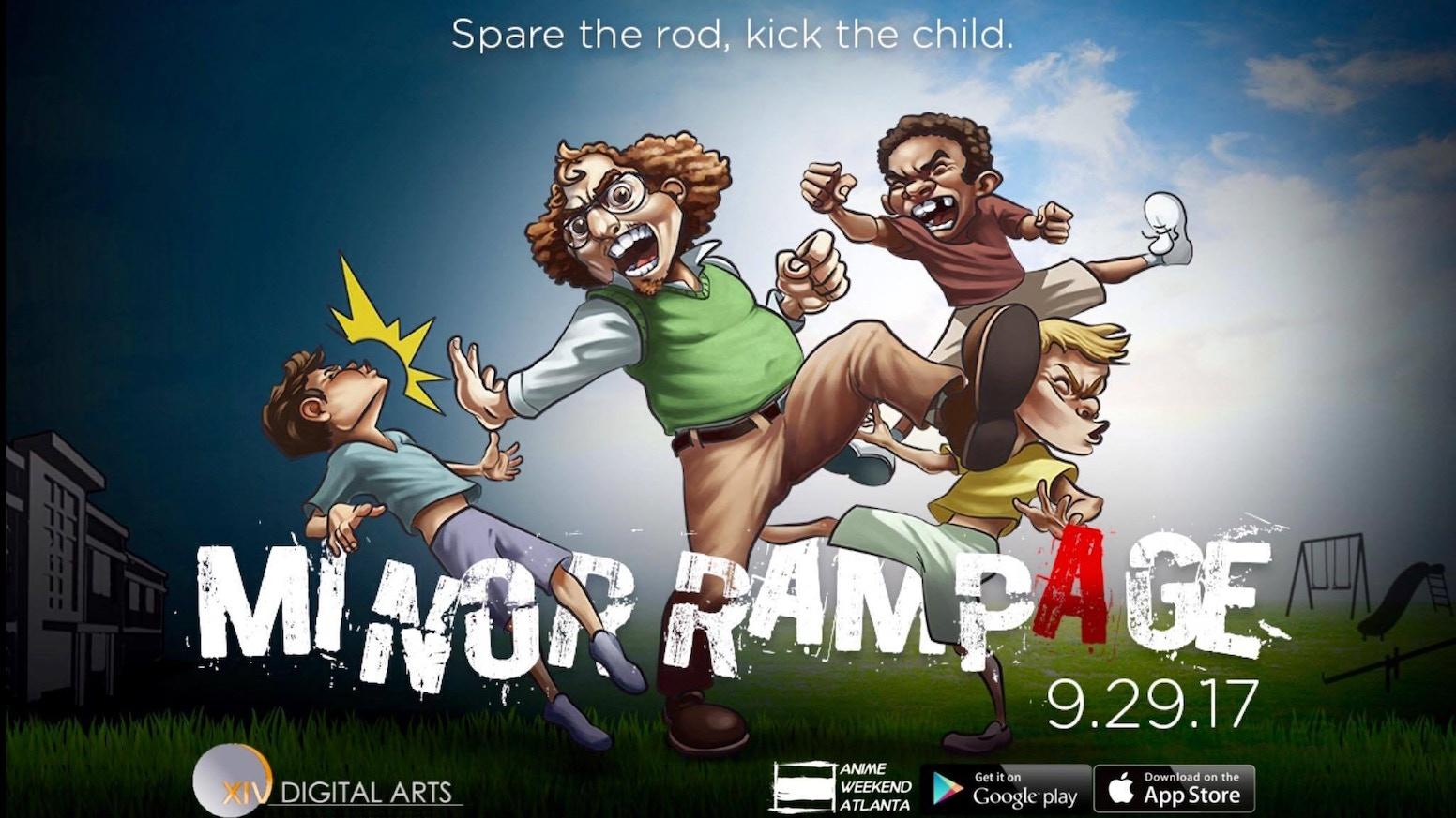 Minor Rampage By XIV Digital Arts Kickstarter