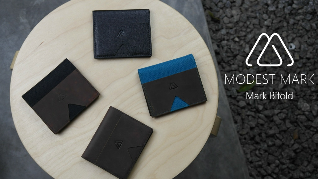 Mark Bifold: The Best Minimalist Bifold Slim Wallet Ever. project video thumbnail
