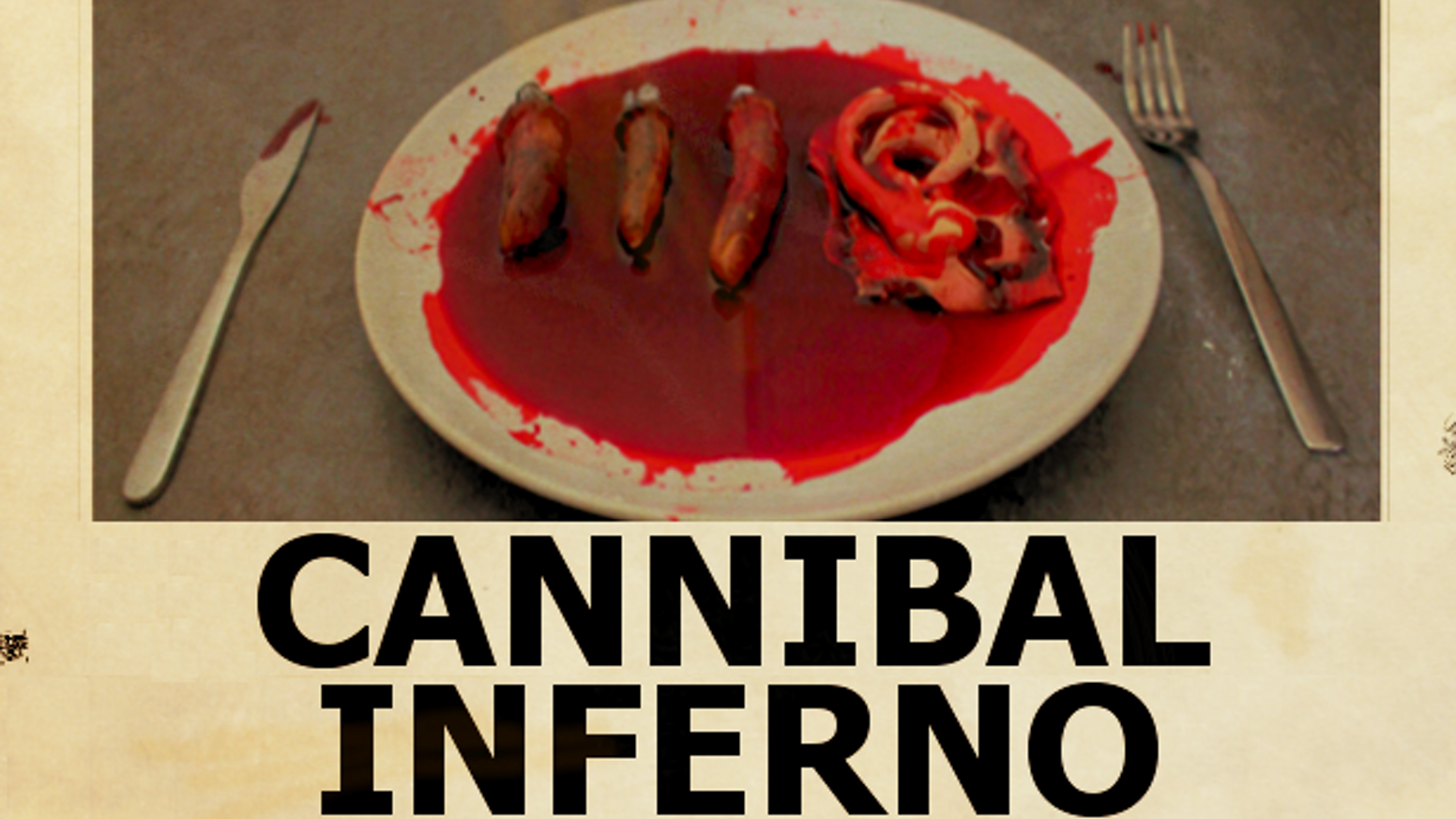 Cannibal Inferno This Is An Original Independent Horror Movie The Story When A Group Of Art