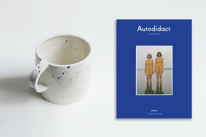 £45 Issue one + Unique handmade Autodidact Mug by Lily Pearmain