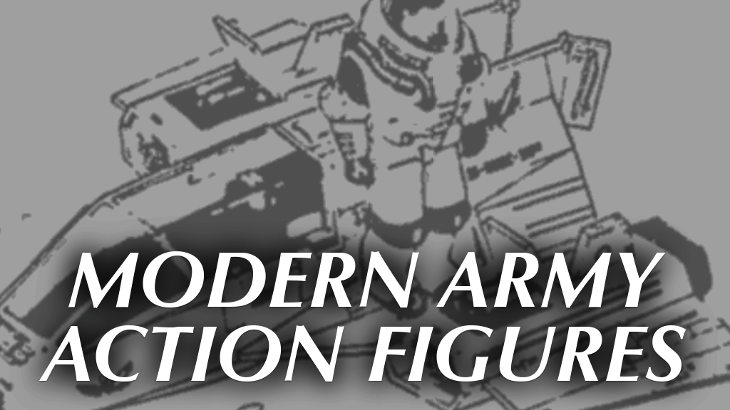 Modern Army Action Figures, G.I. Joe Newspaper Ad 1982-1989 project video thumbnail