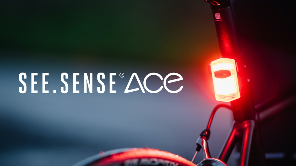 See Sense ACE the connected AI bike light with a big vision project video thumbnail
