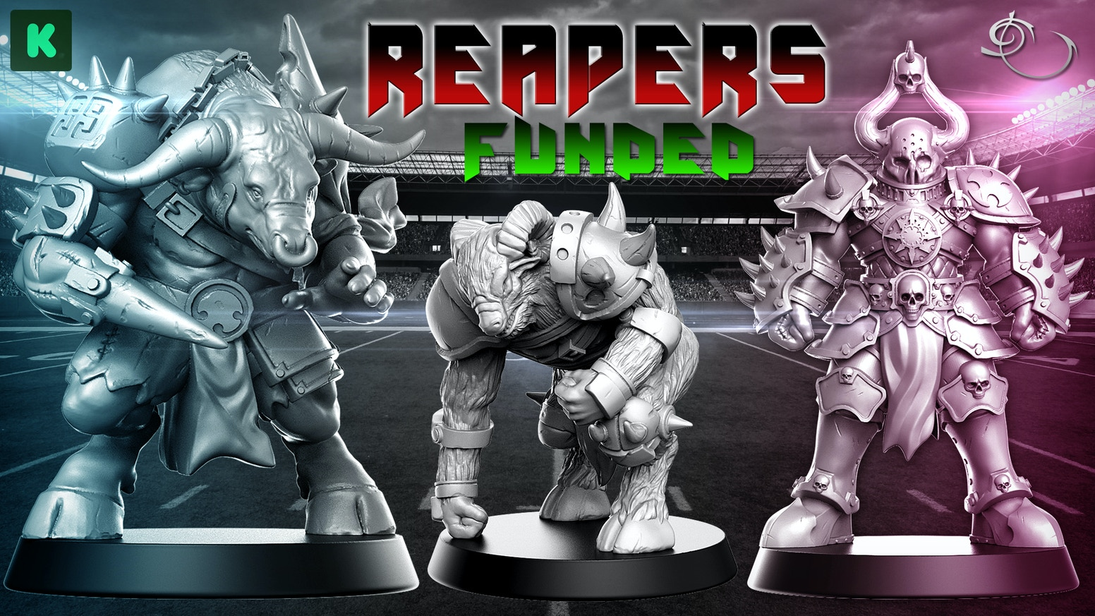 Help us to bring you the most amazings Chaos miniatures for Fantasy Football