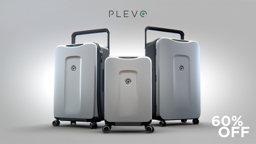 PLEVO - The World's Most Innovative Smart Luggage