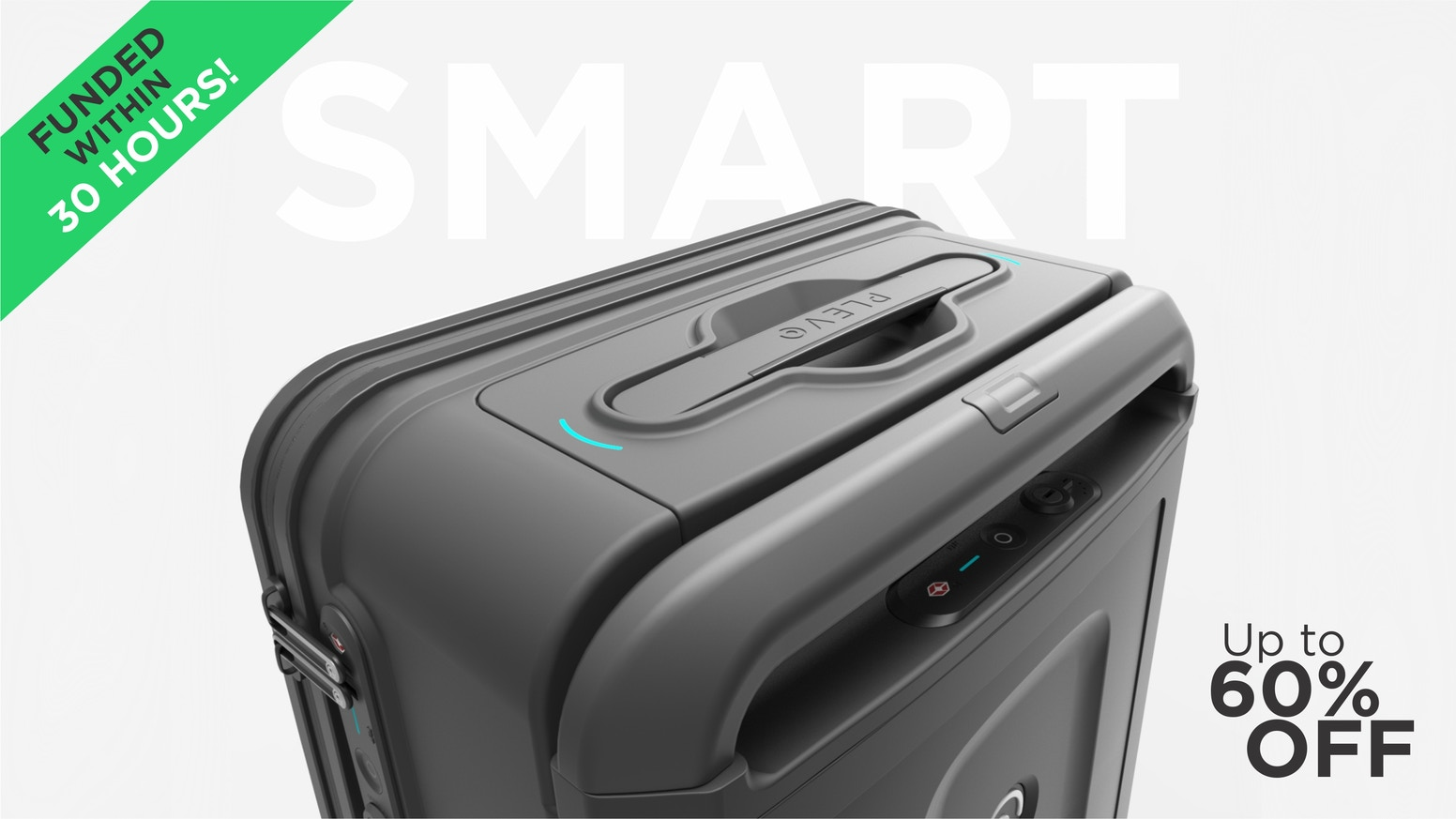 Three Smart Products. Removable Battery Pack, GPS Tracking, Smart Lock, Built-in Digital Scale,  Garment Hanger, Travel Assistant App