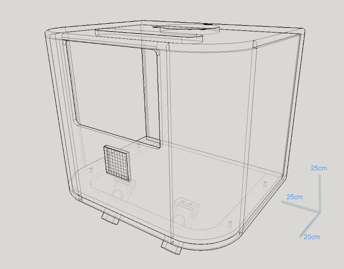 BADDY Launcher CAD design
