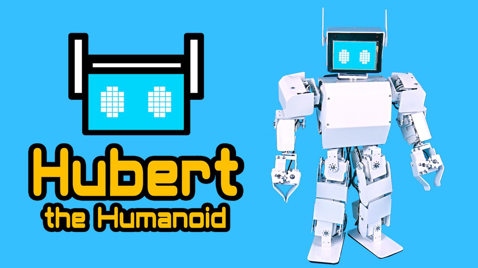 Hubert the Humanoid: Your Advanced Robotics Study Buddy by
