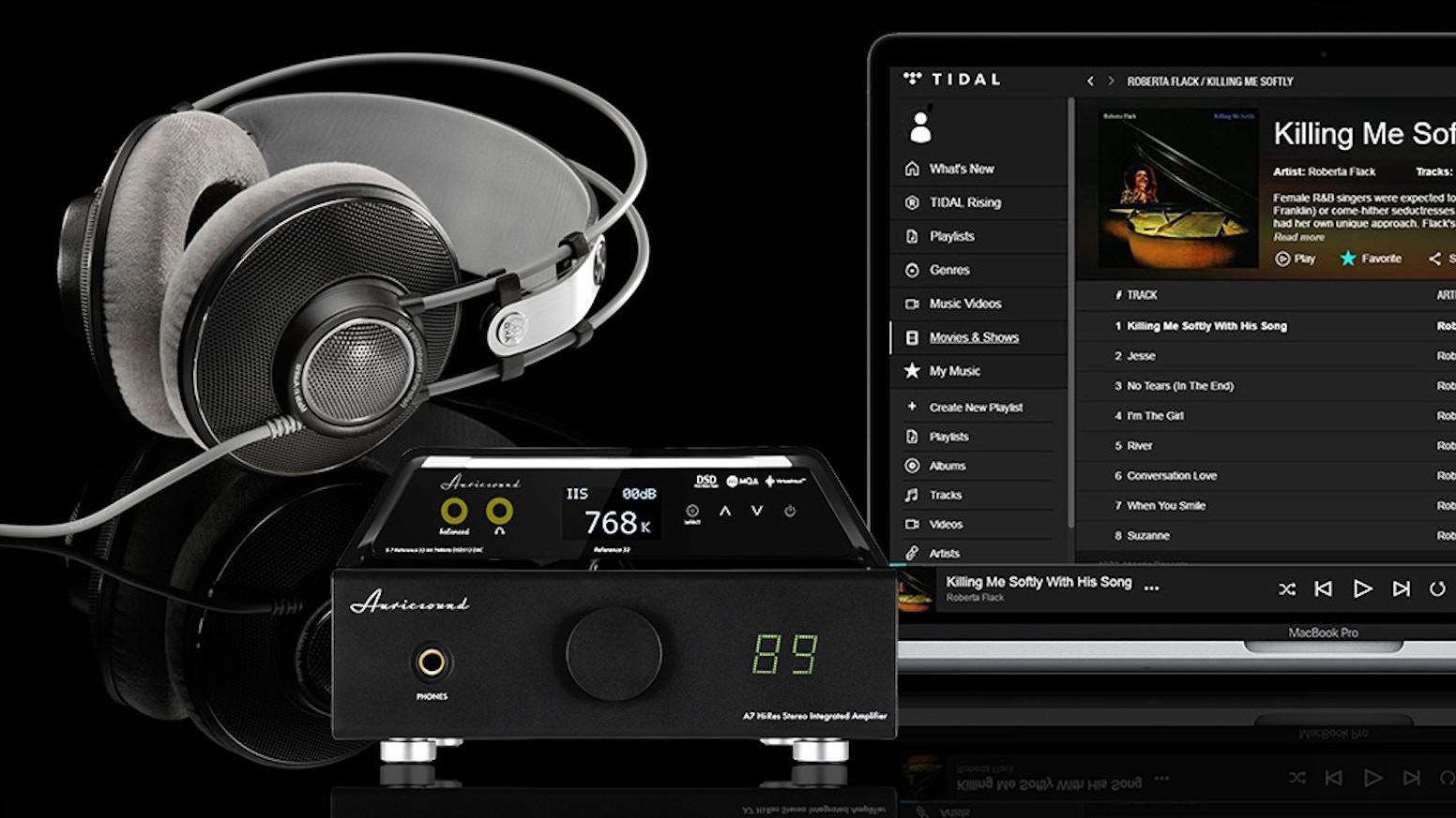 AuricSound A7 Vacuum Tube Amp XLR Stereo Systems | Stereo Hybrid | Warm & Rich Sound | XLR Hi-Res System | Hi-Fi Monitor Speakers AMP