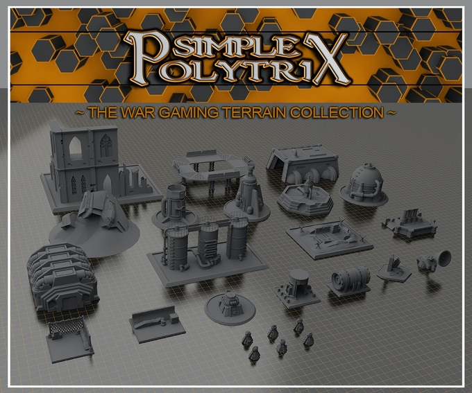 The Wargaming Terrain Collection Stl Files For 3d Printing By