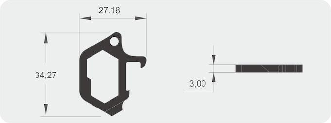 Dean multi-tool: Opener,wrench,pryer.Minimal n super
