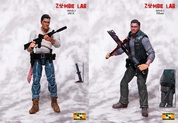 dream concept zombie lab 1 18 hacks action figure by locker toys group kickstarter. Black Bedroom Furniture Sets. Home Design Ideas