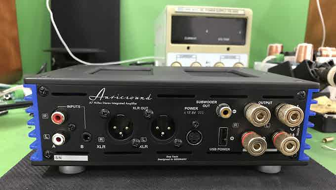 AuricSound A7 XLR Balanced OpAMP and Monitor Speakers out