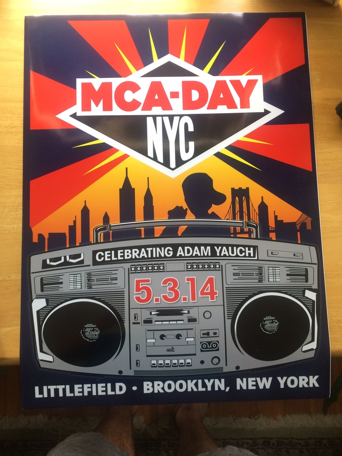 18x24 Glossy 2014 MCA DAY Event Poster