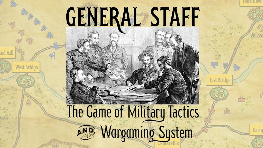 General Staff Game of Military Tactics & Wargaming System project video thumbnail