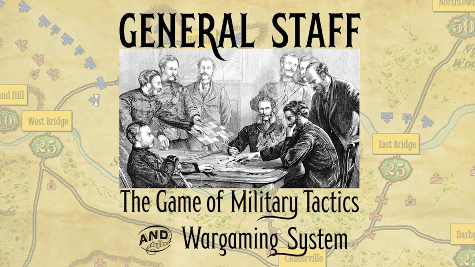 Create your own armies, maps and battles. Play historical simulations and 'what if' scenarios. Two game modes: Simulation & Kriegsspiel