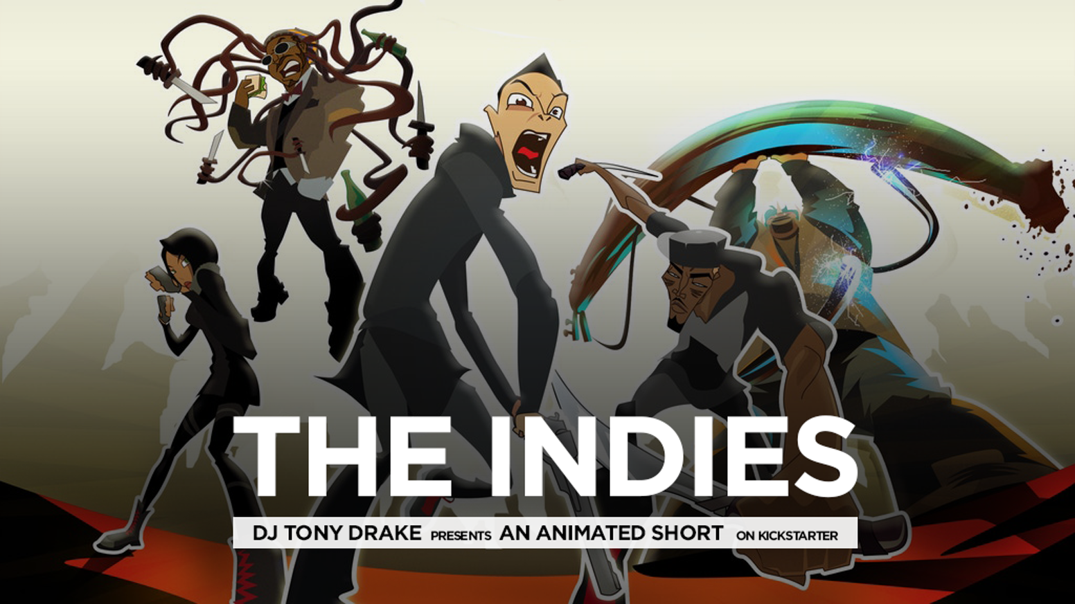 The Indies: An Animated Short is now available for the world to see. Click the button below to watch. Also, the lead single from the short film (DJ Tony Drake - Trouble) is now available for purchase on iTunes as well as on all streaming services.