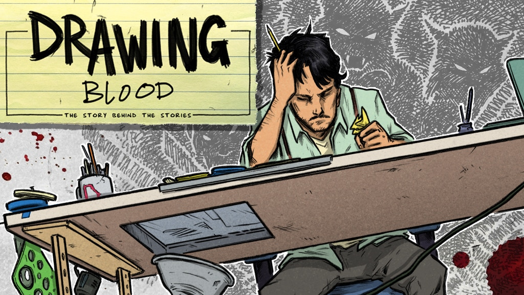 Kevin Eastman's DRAWING BLOOD, Vol. 1: A Graphic Novel project video thumbnail