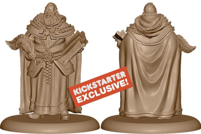 3D Render of the Kickstarter Exclusive NCU: The High Seneschal