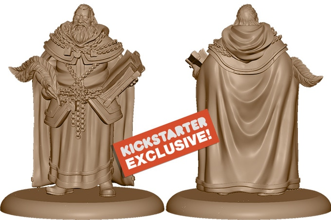 3D Render of the Kickstarter Exclusive NCU: The High Seneschal
