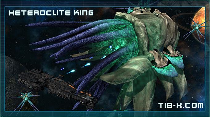 Heteroclite King attacks a Carrier