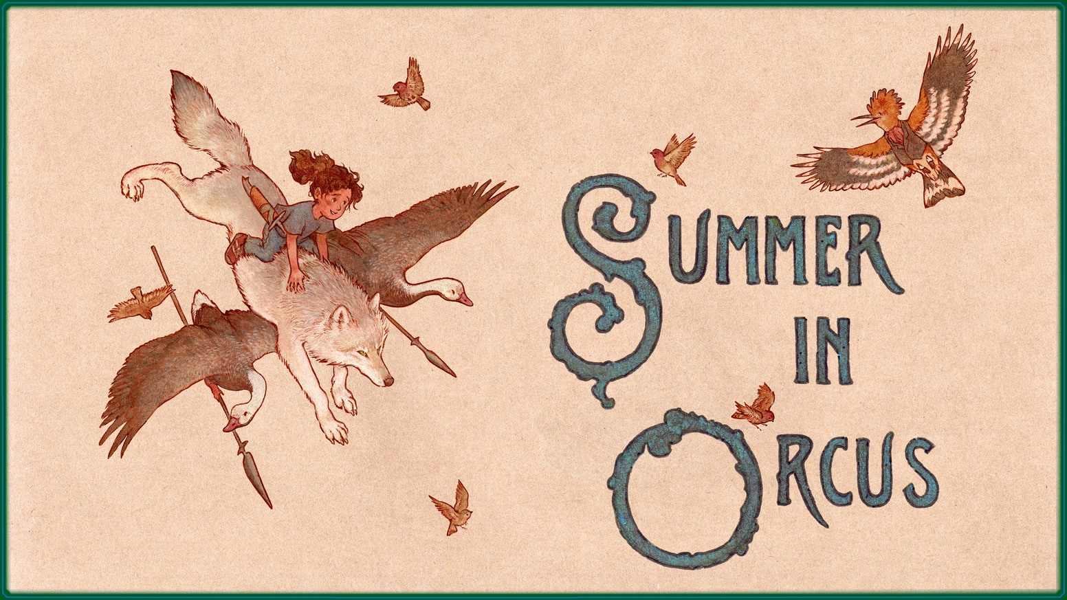 Young adult fantasy novel by T. Kingfisher about an 11 year old girl named Summer sent to the world of Orcus to find her heart's desire