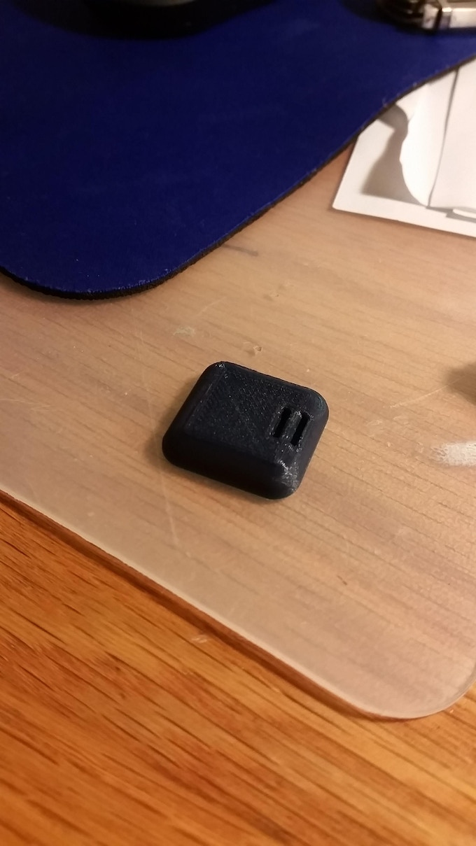 First 3D-printed prototype
