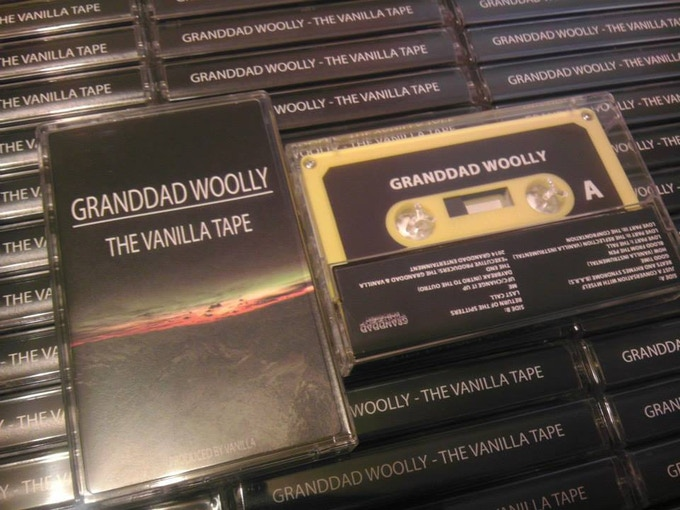 Granddad Woolly - The Vanilla Tape Cassettes Manufactured By Cryptic Carousel